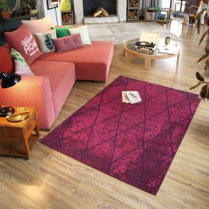 260 Fine Lines Berry Rug by Tom Tailor