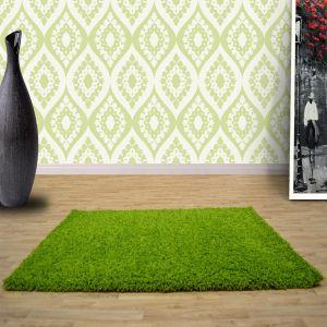 Green 0926 Glasgow OPUS Luxury Shaggy Rug 1