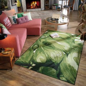 305 Palm Green Multi Garden Rug by Tom Tailor