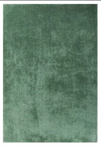 307 Light Green Soft UNI Shaggy Rug by Tom Tailor