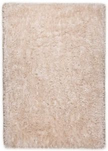 556 Flocatic Beige Shaggy Rug by Tom Tailor
