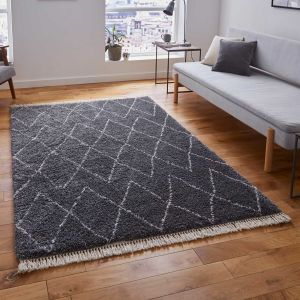 Boho 8280 Grey Rug by Think Rugs