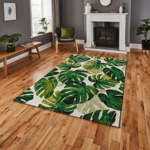 Havana 8598 Green Rug by Think Rugs