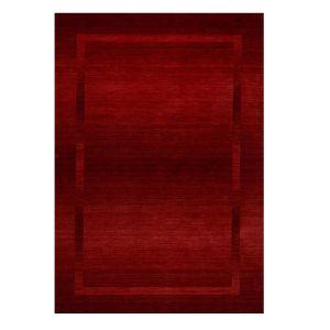 9035-200 Elegance Red Harmony Wool Rug by Theko
