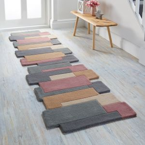 Abstract Collage Pastel Rug by Flair Rugs