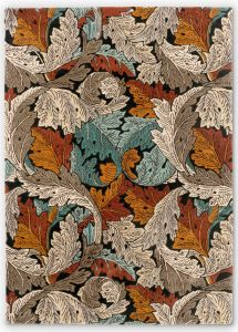 Acanthus 126900 Forest Abstract Rug by Morris & CO.