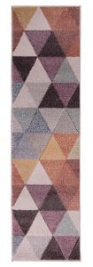 Ada Hand Carved Eliza Multi Runner by Flair Rugs