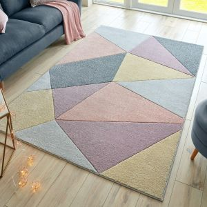 Ada Hand Carved Heidi Multi Rug by Flair Rugs