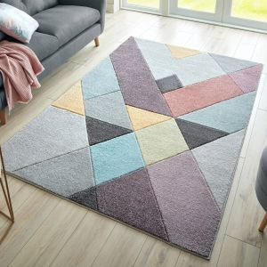 Ada Hand Carved Mika Multi Rug by Flair Rugs