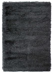 Albany Charcoal Shaggy Rug by Flair Rugs