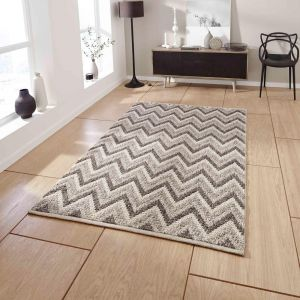 Alpha AL33 Natural Handmade Wool Rug By Think Rugs