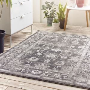 Anatolia Dark Grey Traditional Rug by Origins