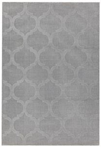 Antibes AN01 Grey Trellis Rug by Asiatic