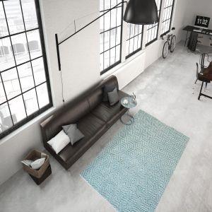 Aperitif 310 Turquoise Modern Rug by Kayoom