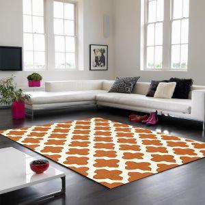 Artisan Terracotta Wool Rug by Asiatic