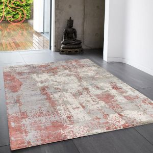 Gatsby Red Rug by Asiatic