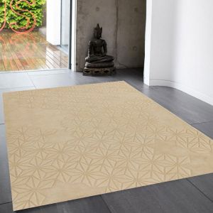 Starburst Natural Wool Rug by Asiatic