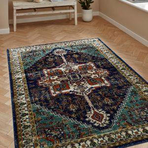 Ashley Blue Persian Rug by Floorita