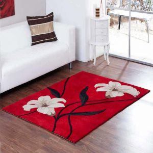Aspire Lawrence Red Modern Rugs By Ultimate Rug 1