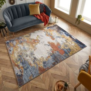 Astro 530 V Multi Abstract Rug by Oriental Weavers