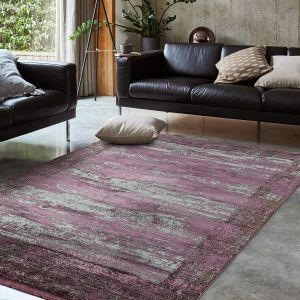 Athera AT04 Bordeaux Border Rug by Asiatic