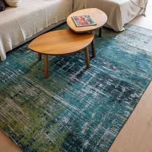 Atlantic Streaks 9126 Glen Cove Flatweave Rug by Louis De Poortere