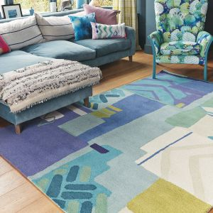 Atlas 19808 Hand Tufted Wool Rug by Bluebellgray