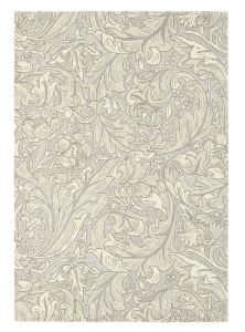Bachelors Button 28209 Linen Hand Tufted wool Rug by Morris & CO.
