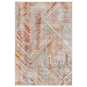 Bilal Ines Linear Multi Abstract Rug by Flair Rugs
