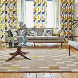 Blok 24101 Dandelion Hand Tufted Wool Rug by Scion