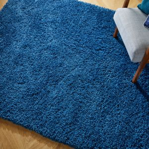 Brilliance Sparks Blue Rug by Flair Rugs