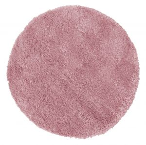 Brilliance Sparks Pink Circle Rug by Flair Rugs