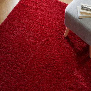 Brilliance Sparks Red Rug by Flair Rugs