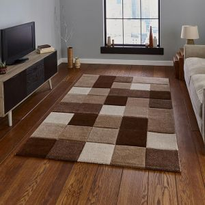 Think Rugs Brooklyn 646 Beige/Brown Rug