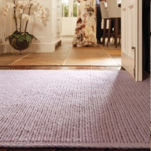 Cable New Blush Wool Rug by Origins