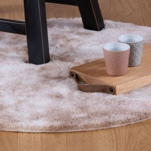 Camouflage CAM 915 Taupe Shaggy Rug by Obsession