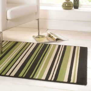 Element Prime Canterbury Green/Brown Rug by Flair Rugs