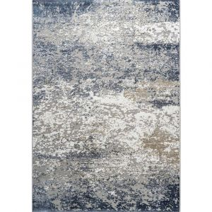 Canyon 052-00147777 Blue Contemporary Abstract Rug by Mastercraft