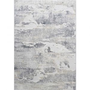 Canyon 052-00643676 Grey Beige Contemporary Abstract Rug by Mastercraft