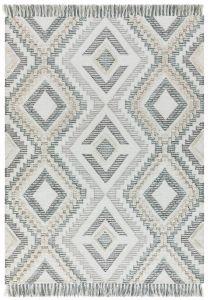 Carlton Geometric Grey Rug  by Asiatic