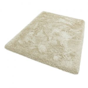 Cascade Cream Luxury Polyester Circle Rug by Asiatic