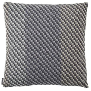 Charcoal Wool Cushion by Claire Gaudion