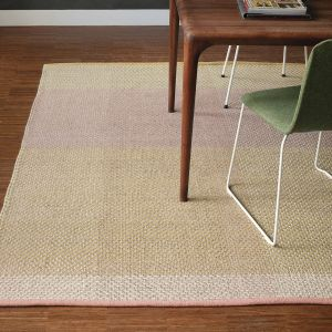 Check 56402 Neutral Wool Rug by Ted Baker