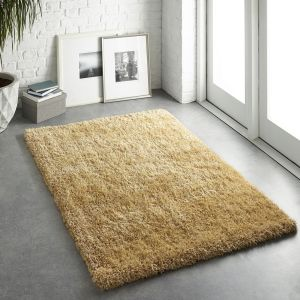 Chicago Ochre Polyester Rug by Origins