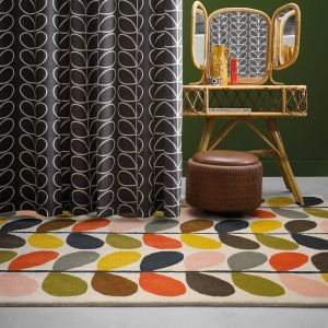 Classic Stem 059505 Multi Wool Rug by Orla Kiely
