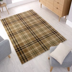 Cocktail Highland Natural Rug by Flair Rugs