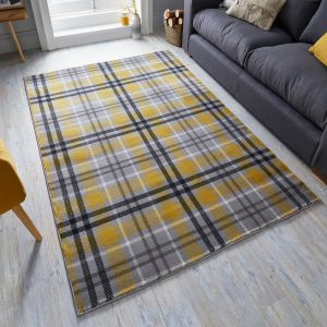 Cocktail Highland Ochre Runner by Flair Rugs