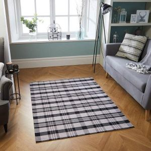 Cottage 10 K Black/White Rug by Oriental Weavers