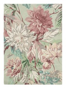 Dahlia & Rosehip 050607 Mulberry Hand Tufted Wool Rug by Sanderson