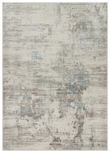 Dalia DAL10 Ivory Multicolour Abstract Rug by Concept Looms